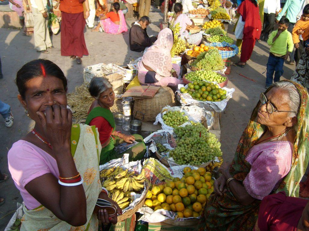 Indien Markt